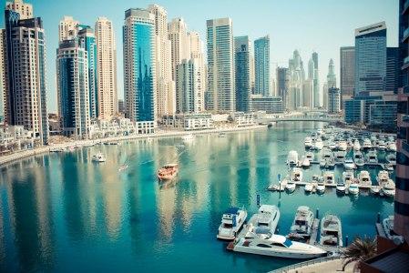 Dubai Marina at day