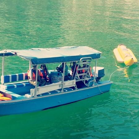 banana boat ride in oman