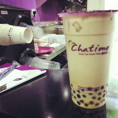 chatime pearl milk tea in dubai