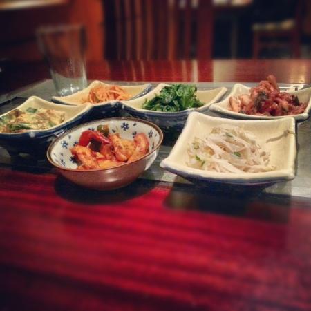 kimchi appetizer