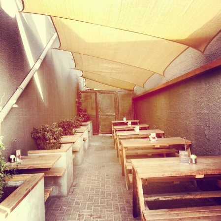 outside dining area - The lime tree