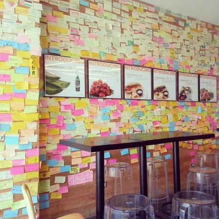 wall posts in Kimchikin Karama