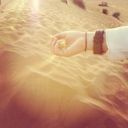 Desert Sand of Dubai