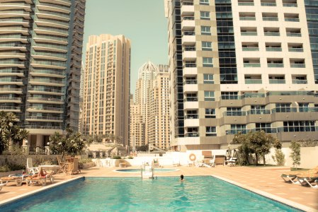 Dubai Marina Swimming Pool