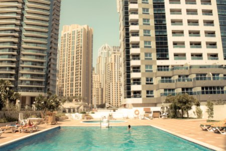Dubai Marina Swimming Pool