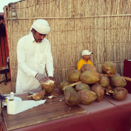 Fresh Coconut Juice
