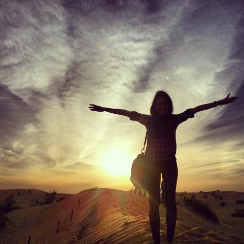 Silhouette Desert Safari