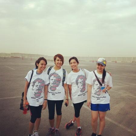 terry fox  marathon girls