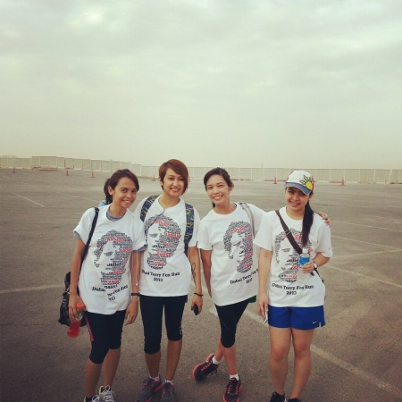 terry fox  marathon girls