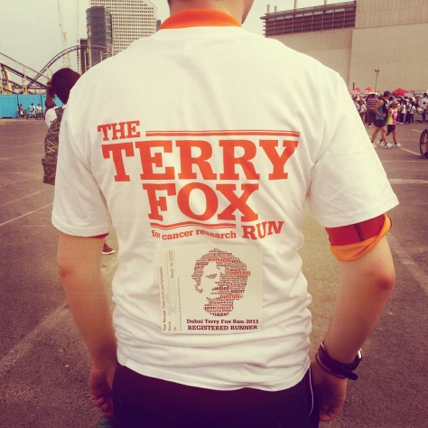 the terry fox run 2013