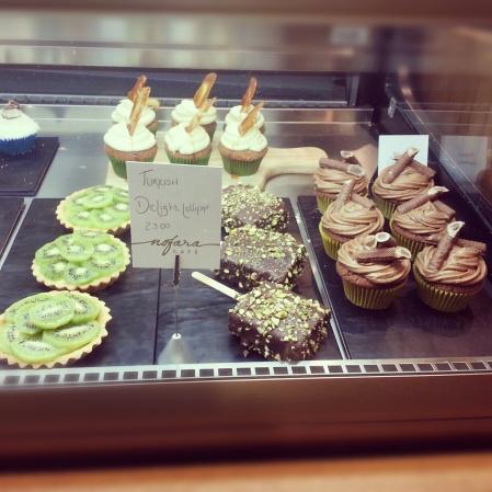 Turkish delight at Nofara Cafe Dubai