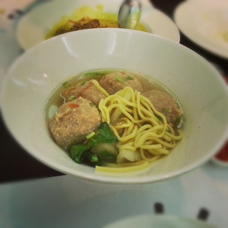 Bakso Meat Ball Soup