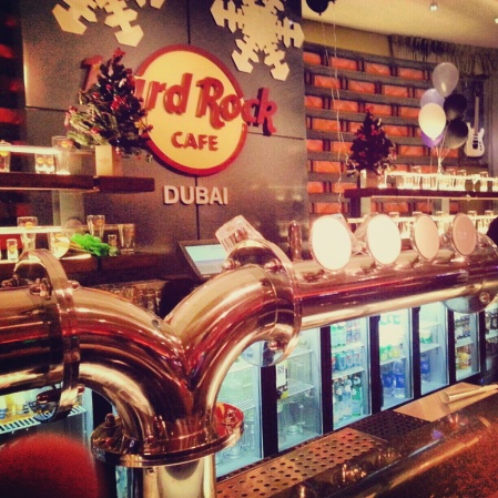 hard rock cafe in Festival City Dubai