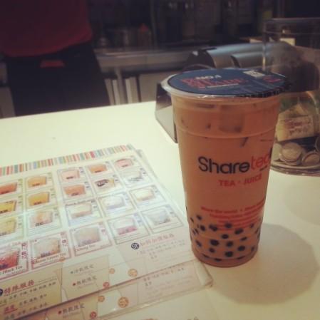 Milk tea - Sharetea
