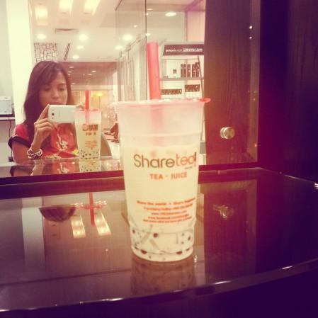 QQ Happy Family Milk Black Tea - Sharetea