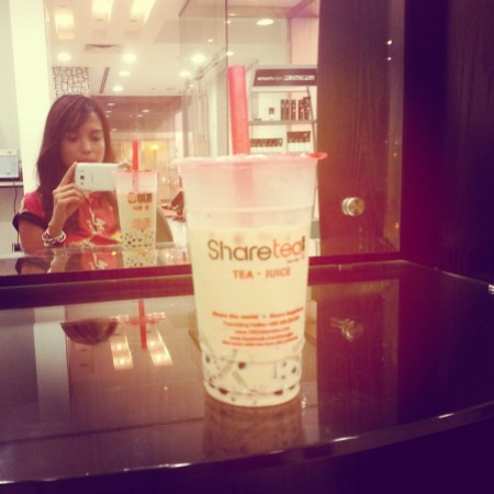 QQ Happy Family Milk Black Tea - Sharetea