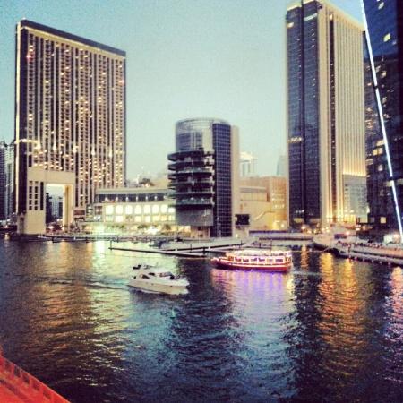 Dubai Marina Boat