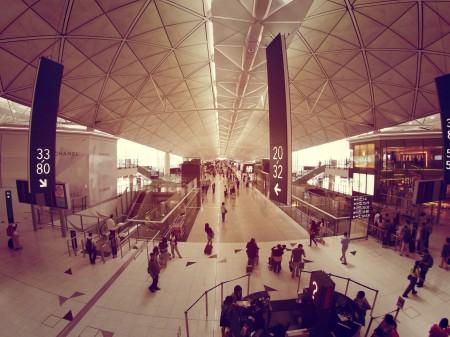 Massive Hongkong Airport