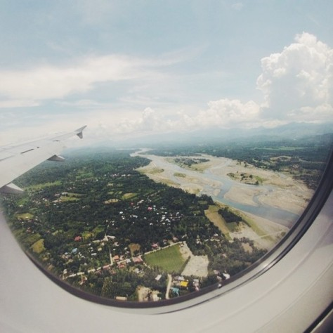 Airplane to Boracay