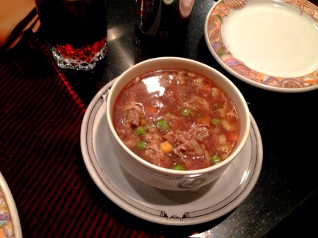 chicken sweet and sour soup