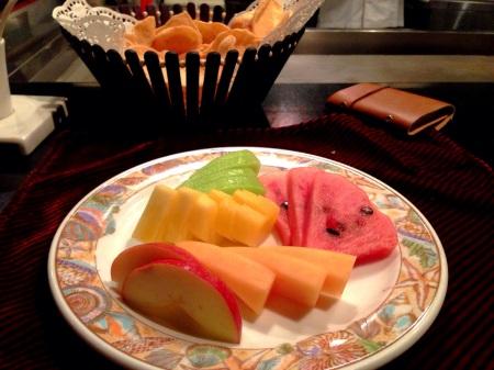 mix fruit platter