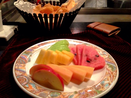 mix fruit platter