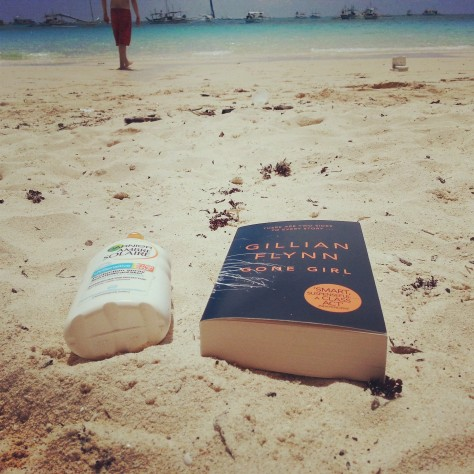 Sunbathing in Boracay