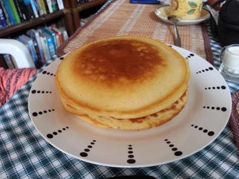 biggest pancake - dave's straw hat