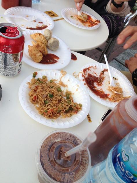 Street food momos